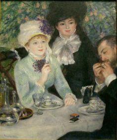 After Dinner - Pierre Auguste Renoir