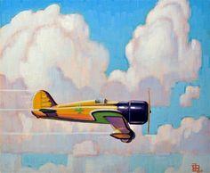 """Daily Paintworks - """"Thunder"""" by Robert LaDuke"""