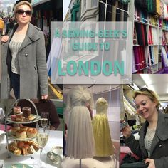 A Sewing-Geek's Guide To London. Part 2: Shopping and other fun stuff…