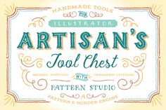 Artisan's Tool Chest by Ornaments of Grace on Creative Market