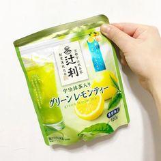 KATAOKA Tsujiri Green Lemon Tea with Uji Matcha and Honey 180g - Made in Japan - TAKASKI.COM Japanese Green Tea Matcha, Matcha Green Tea, Uji Matcha, Japanese Drinks, Healthy Drinks, Summer Time, Herbalism, Snack Recipes, Food And Drink