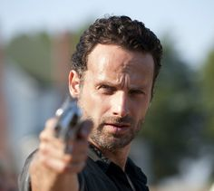 Rick Grimes 8x10 Photo Walking Dead Andrew Lincoln 2 Free Shipping | eBay