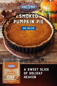 Pellet Grill Recipes, Grilling Recipes, Thanksgiving Recipes, Holiday Recipes, Delicious Desserts, Dessert Recipes, Pumpkin Spice Syrup, Good Food, Yummy Food