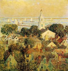 Frederick Childe Hassam - Provincetown | Flickr - Photo Sharing!