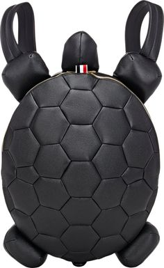Thom Browne Turtle Medium Backpack at Barneys New York Backpack Purse, Leather Backpack, Leather Bag, Fashion Bags, Fashion Backpack, Novelty Bags, Japan Outfit, Thom Browne, Handmade Bags