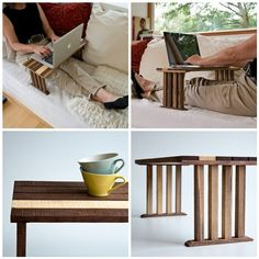 bedside laptop table by less & more