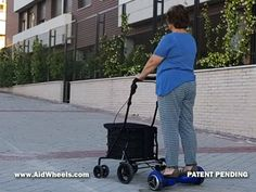 hoverboard stroller rollator seniors elderly Electric Personal Assistive Mobility Devices