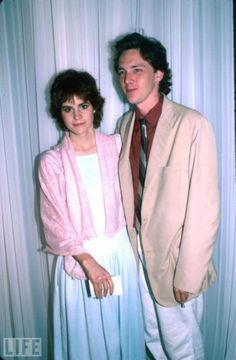Ally Sheedy and Andrew McCarthy