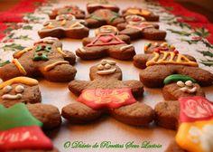 O Diário de Receitas Sem Lactose: Biscoitos de Especiarias decorados com Glacê Sem Lactose