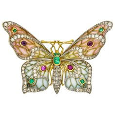 Charm Jewelry, Jewelry Gifts, Fine Jewelry, Jewellery, Vintage Brooches, Vintage Jewelry, Enchanted Jewelry, Jewelry Drawing, Art Nouveau Jewelry
