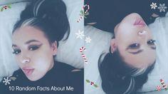 10 Random Fact About Me Daycember Series Dawn, Channel, Facts, Random, Youtube, Christmas, Xmas, Navidad, Noel