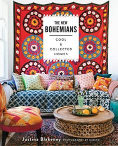 The New Bohemians: Cool and Collected Homes by Justina Blakeney http://www.amazon.com/dp/1617691518/ref=cm_sw_r_pi_dp_1e3qvb13YTK47