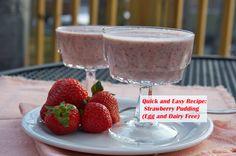 Strawberry-pudding
