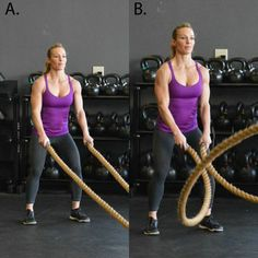 7 Heavy Rope Exercises to Slam, Strengthen, and Sculpt - Full Body Workout: 7 Heavy Rope Exercises To Slam, Strengthen, And Sculpt - Shape Magazine