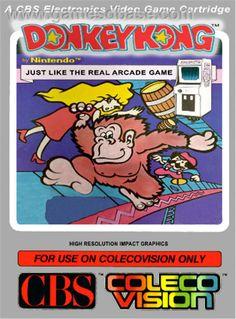 Donkey Kong on The COLECOVISION: Walkthrough