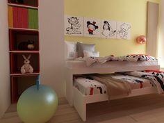 Izby pre dievčatá - CU Interiors