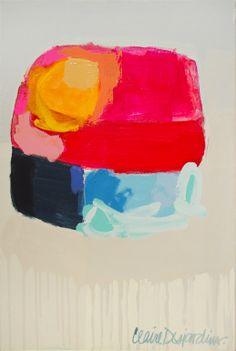 "Palette - Saatchi Online Artist: Claire Desjardins; Acrylic, 2011, Painting ""Cooling System"""