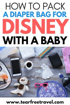 Are you heading to Disney with a baby? Disney world with a baby can be a fantastic trip for everyone Packing List For Disney, Disney World Packing, Packing Lists, Packing Outfits, Disney Travel, Disney Bound, Disney World Tips And Tricks, Disney Tips, Disney Magic