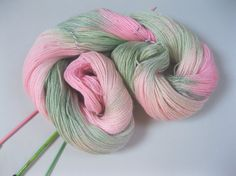 Hand painted  fingering /4ply sock knitting by KnitwitOriginalsUK, £15.00