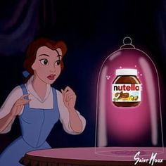 Because Nutella is the nectar of the gods: | 22 Disney Memes That Will Make You Laugh Every Time