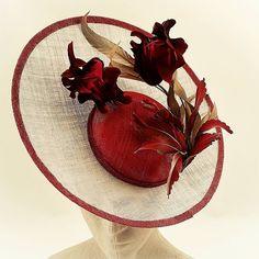 Women S Fashion Designer Brands Product Sinamay Hats, Fascinator Hats, Fascinators, Headpieces, Kentucky, Fancy Hats, Big Hats, Love Hat, Summer Hats
