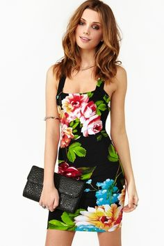 Black Roses Red Dress