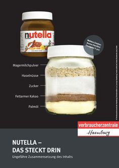 Verbraucherzentrale Hamburg: Nutella – das steckt drin Oh weia… Wenn schon ein… Consumer Center Hamburg: Nutella – that's in it Oh weia … If a chocolate spread, then a better alternative … What you can improve in your diet, we… Continue Reading → Healthy Drinks, Healthy Recipes, Diet Recipes, Watermelon Smoothies, Clean Eating, Healthy Eating, Eat Smart, Food Facts, Health And Nutrition