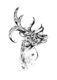 The stag- My celtic zodiac.