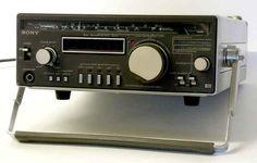 Shortwave Receivers Sony CRF-1