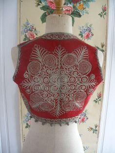 ottoman embroidered lady's bolero
