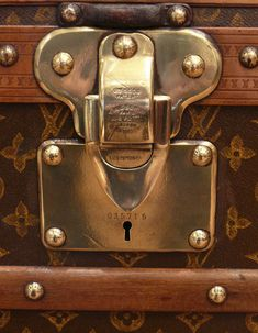 Vintage luggage: Louis Vuitton, Hermes and Dunhill