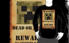 Minecraft Art, Creepers, Evans, Birthday Ideas, Poster, Shirts, Climbing Vines, Creeper, Posters