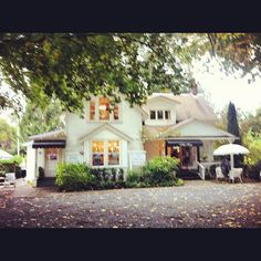 The Little White House shop and clothing store in Fort Langley