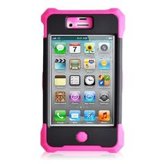 $9.99 - FOR IPHONE 4S Comparable to Hybrid Case for Iphone 4 & 4s - Pink Black - In Package by pink black generic defender comparable to defender iphone 4, http://www.amazon.com/dp/B00C83NCUW/ref=cm_sw_r_pi_dp_-rjWrb00J3EC6