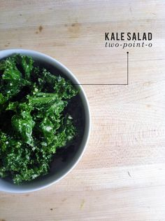 A healthy salad dressing recipe for a kale salad! With garlic, lemon, honey, and parmesan cheese.