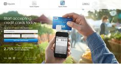 A superb page for #conversion by #square