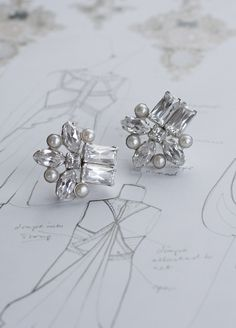 Art Deco Earrings - Skye | Portobello