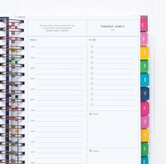 Emily Ley Simplified Planner Inside popular planners girl organized