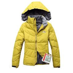 KnowInTheBox - High Quality The North Face Yellow Down Jacket From China