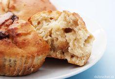 Jablkové muffiny s ovsenými vločkami