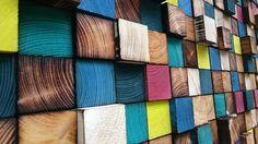 Houten muur Art  Wood Sculpture  3D Wall Art van WallWooden op Etsy