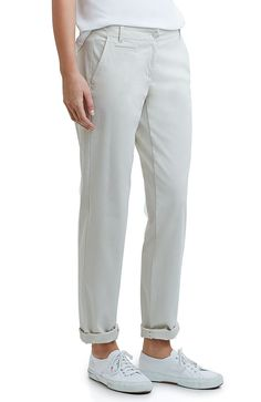 live-in chino boyfriend pants from J.Jill