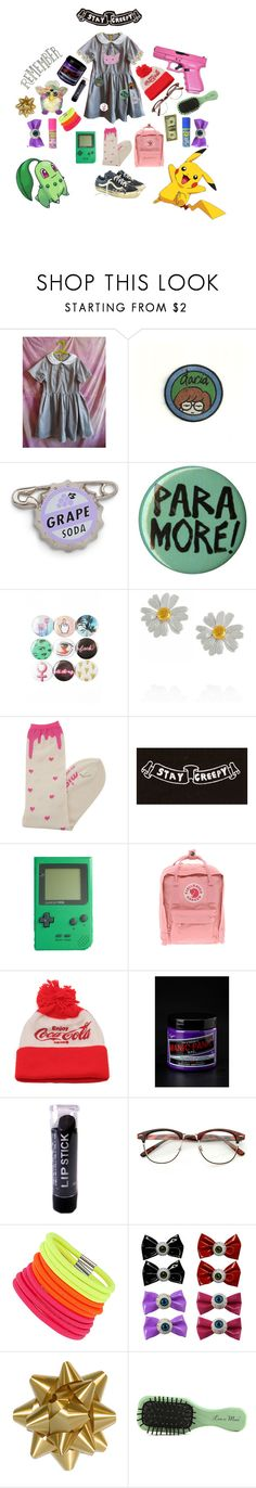 """""""remember stay creepy"""" by pigybacker ❤ liked on Polyvore featuring daria, Disney, Hot Topic, Alex Monroe, MIGH-T BY KUMIKO WATARI, Vans, Kenzo, Fjällräven, Manic Panic NYC and Dorothy Perkins"""