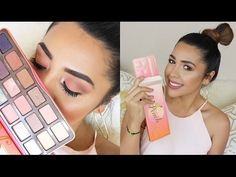 Too Faced Sweet Peach Palette Review y Tutorial - Ydelays - YouTube