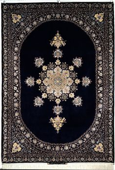 Isfahan Hekmatnejad Silk Persian Rug | Exclusive collection of rugs and tableau rugs - Treasure Gallery