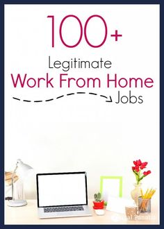 Are you looking for legitimate work from home jobs? Take a look at these 100+ ways that you can make money from home. make money for christmas #christmas