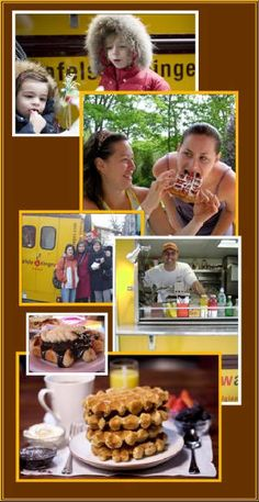"""Brussels Waffle Recipe - Courtesy Thomas DeGeest of """"Wafels & Dinges"""" Food Truck of NYC"""