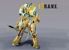 R.a.v.e. Picture  (2d, sci-fi, transformer)