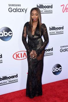 Estelle at the 2015 Billboard Music Awards