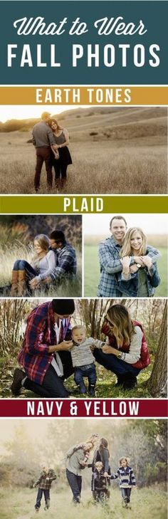 family photo outfits Tips and tricks for gorgeous fall family pictures. Get the best Fall family photo ideas including location, pose and prop ideas PLUS a free printable! Family Portrait Outfits, Fall Family Portraits, Fall Family Photo Outfits, Fall Family Pictures, Fall Photos, Family Pics, Fall Outfits, Family Posing, Couple Pictures